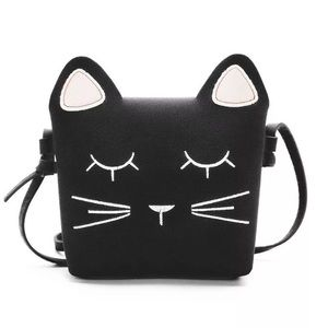 """Other - New Girl's Cat Bag Purse 6""""x6"""""""
